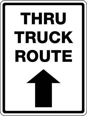 Beaed - Thru Truck Route - BTC-35735R