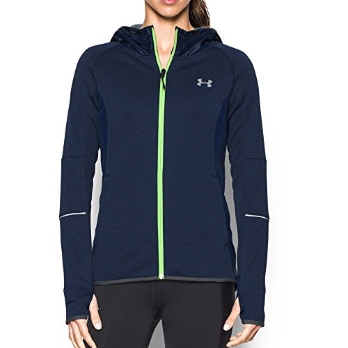 Under Armour Women's Storm Swacket Full Zip, Midnight Navy/Midnight Navy, Medium by Under Armour (Image #4)