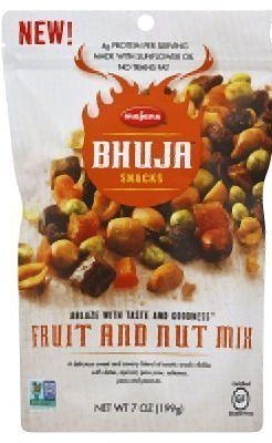 nd Nut Mix - Pack of 2 - 7 Ounce Bags (Bhuja Fruit Mix)