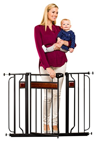 Regalo Home Accents Safety Gate, Black by Regalo