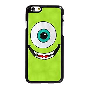 Funda iPhone 6 6S caso del teléfono celular de 4.7 pulgadas Funda Negro Monster Inc O2O5IK