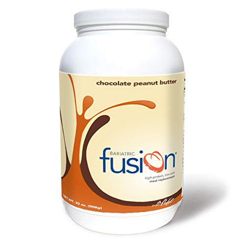 Bariatric Fusion Meal Replacement Protein 2lb Tub Chocolate Peanut Butter for Gastric Bypass & Sleeve Gastrectomy