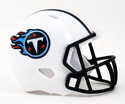 TENNESSEE TITANS NFL Riddell Speed POCKET PRO MICRO / POCKET-SIZE / MINI Football Helmet