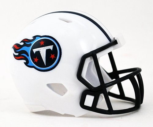 TENNESSEE TITANS NFL Cupcake / Cake Topper Mini Football Helmet by Unknown