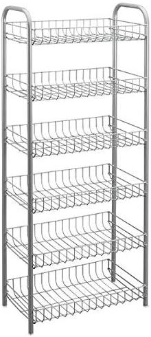 Gravidus praktisches Allzweckregal in verschiedenen Gr/ö/ßen 4 Etagen