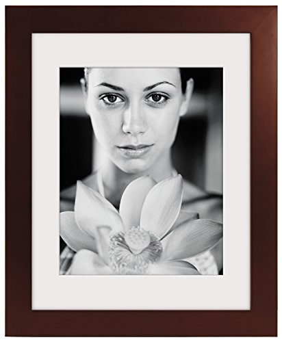 Malden 16x20 Espresso Matted Picture Frame - Made to Display