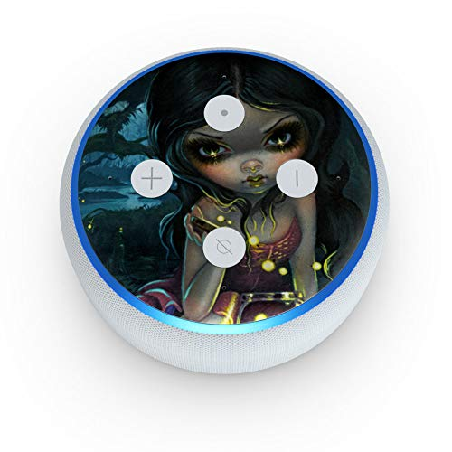 Releasing Fireflies - Skin Sticker Decal Wrap for Amazon Echo Dot 3rd Gen