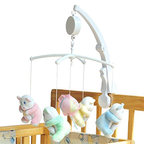 [Baby Toddler Mobile Crib Bed Toy Clockwork Movement Music Box Infant] (Gothic China Doll Costume)