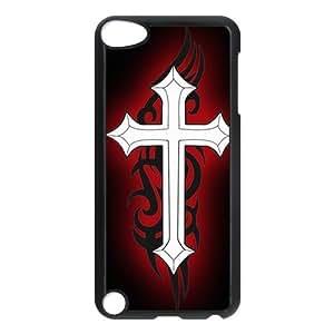 Custom Cross Back Cover Case for ipod Touch 5 JNIPOD5-054