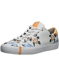 Women's Floral Patterned Low Cut Sneaker