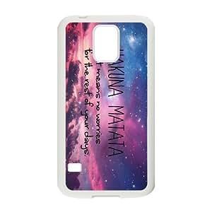 [H-DIY CASE] For Samsung Galaxy S5 -Quotes Hakuna Matata-CASE-6