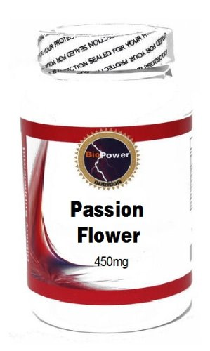 Passion Flower 450mg 100 Capsules # BioPower Nutrition Review
