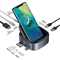 Samsung USB C to 4K HDMI Adapter DeX Station for Samsung & Huawei Mate