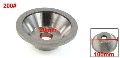eDealMax 100 millimetri Fuori Dia 35 millimetri di spessore Bowl Figura del Diamante CBN 200#