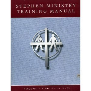 Stephen Ministry Training Manual (Free Training Manual)