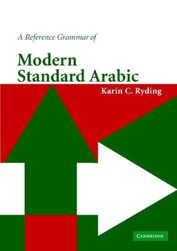 A Reference Grammar of Modern Standard Arabic (Reference Grammars) Pdf
