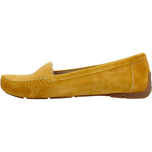 Mocasines para mujer, color Amarillo , marca STONEFLY, modelo Mocasines Para Mujer STONEFLY SAINT TROPEZ 7 VEL Amarillo Amarillo