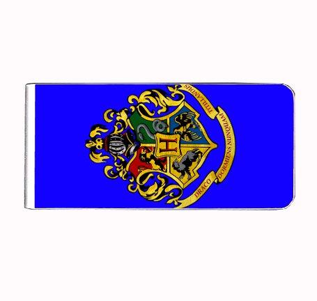 Hogwarts Crest Magic Potter Money Clip - Crest Clip Money
