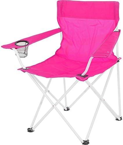 Silla silla plegable, silla, Pesca, Camping silla, rosa ...