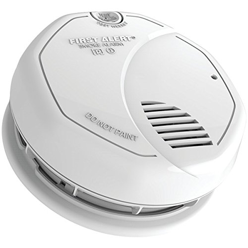 First Alert SA3210 Dual-Sensor Smoke & Fire Alarm with 10-year Sealed (Dual Powered Smoke Alarm)