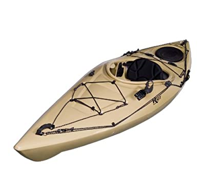 Riot Kayaks Edge 11 Sand 11ft Angler Flatwater Fishing Kayak