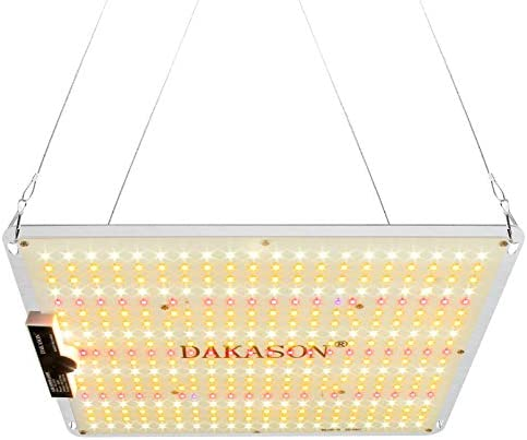 DAKASON KS-1000 LED Grow Light, Up Graded Full Spectrum LED Grow Lights for Indoor Plants Seeding Veg and Flower, Dimmable Grow Light with UV IR for All Stage