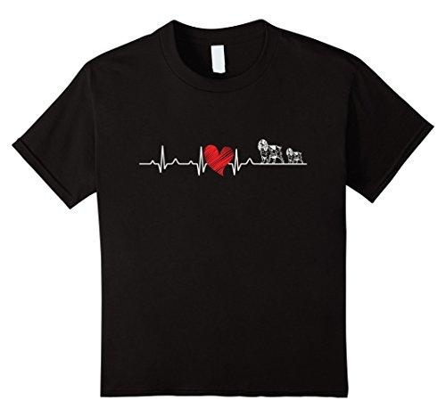 Heart Organic Kids T-shirt - 6