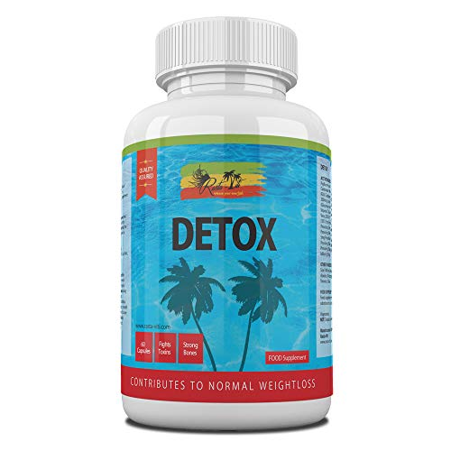 Detox Colon Cleanse Capsules – Daily Treatment to Cleanse Colon Using Natural Detoxification Ingredients – High Strength…