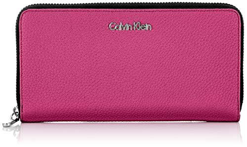Calvin Klein Neat Large Ziparound, Women's Wallet, Purple (MAGENTA), 2.5x11x20.5 cm (B x H T)