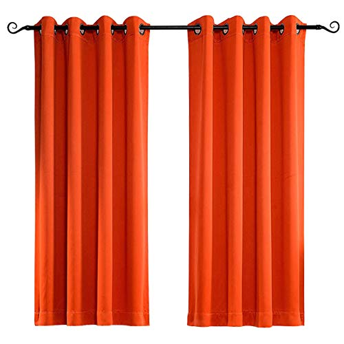 Compare Price To Burnt Orange Panel Curtains Tragerlaw Biz