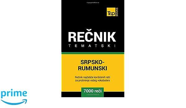 srpsko rumunski recnik