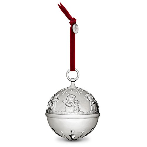 (Hallmark Keepsake Christmas Ornament 2018 Year Dated, Silver Bell Christmas Ornament, Ring In the Season Jingle Bell, Metal)