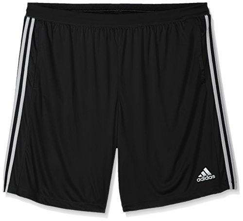 Adidas Men's Tall Size Designed-2-Move 3-Stripes Shorts, Black/White, 2XLarge-Tall