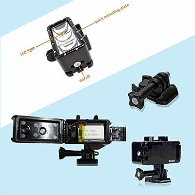 friendGG - Linterna de 3 Luces LED Sumergible para dji Osmo Action ...