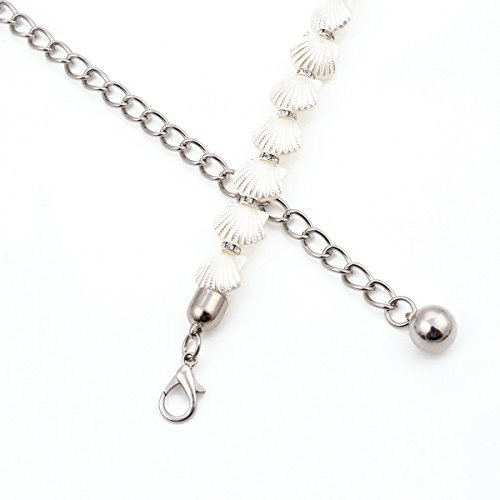 Femmes Damara Coquille Perles De Chapelet De Forme Or Ceinture Robe Élégante