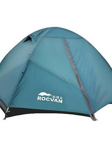KOE ROCVAN 3 Season A092B 2 Person Single Layer Tear Resistant Aluminum Pole Camping Tent