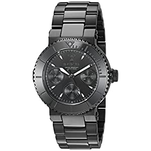 Invicta Women's Gabrielle Union Quartz Watch with Stainless-Steel Strap, Black, 20 (Model: 22952)