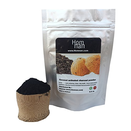Price comparison product image Activated Charcoal powder raw coconut carbon organic and natural food grade , Teeth whitening , purifier, Detox and Home made product