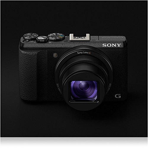 Sony-DSC-HX60-Digitalkamera-204-Megapixel-30-fach-opt-Zoom-75-cm-3-Zoll-LCD-Display-Exmor-R-CMOS-Sensor-NFCWiFi-schwarz
