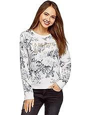 oodji Ultra katoenen sweatshirt voor dames