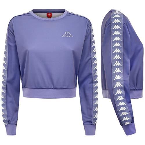 222 Violet White Sweat Banda Kappa Ahmis SP7n00