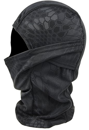 DCCN Cagoule Masque de Visage Tactique Tête Protecteur Tour de Cou pour Camouflage Moto Ski Snow Surf Cyclisme Escalade… 2