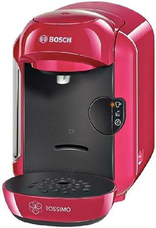 Bosch TASSIMO VIVY - Máquina multibebida, 1300 W, sistema multibebida totalmente automática, depósito de agua extraíble de 0,7 l, color fucsia: Amazon.es: Hogar