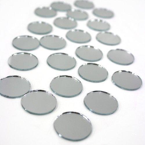 Value Round mirror 1-Inch New (Darice Big Value Mirrors)