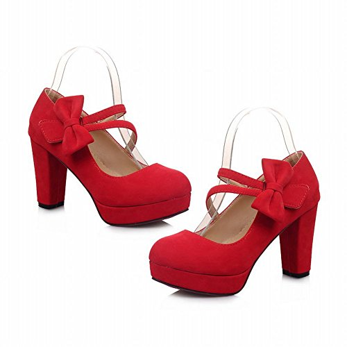 Red Shine Heels High Platform Womens Show awqHXH