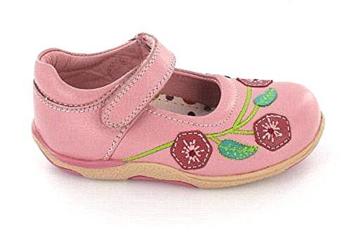 Hush Puppies Glaçage Rose Pâle Chaussures Filles en Cuir