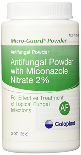 (MICRO-GUARD POWDER ANTIFUNGAL. CONTAINS 2% MICONAZOLE NITRATE. WORKS WELL UNDER SKIN FOLDS. TREATS - 3 oz(85g) )
