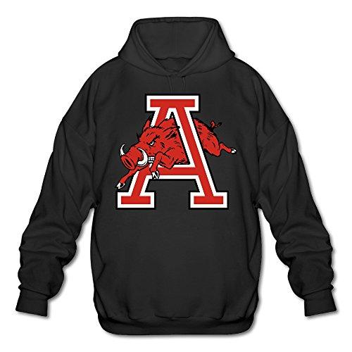Price comparison product image AUSIN Men's University Of Arkansas Hoodies Black Size M