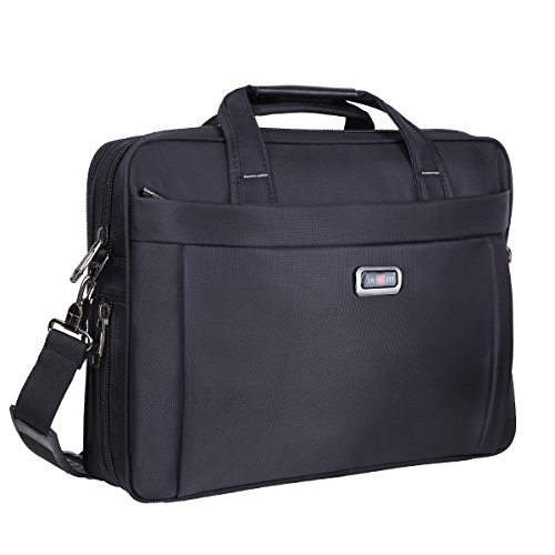 Top Super Laptop Bag 15.6 inch, Laptop Briefcase for Men Women, Business Portable Carrying Case Messenger Shoulder Bag Fit for 15 15.6 Inch Laptop Tablet Attache Compatible with HP/Dell/Lenovo/Asus