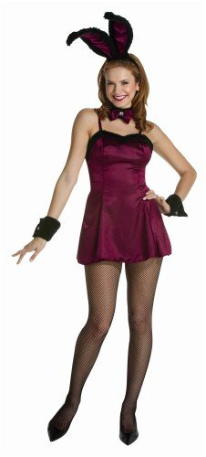 Cocktail Hunny Burgundy Adult Costume Standard